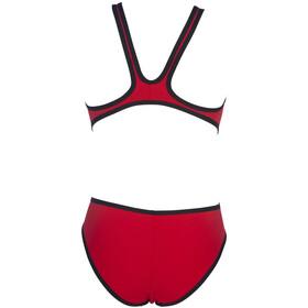 arena One Biglogo Traje de baño de una pieza Mujer, red/black